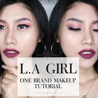 L.A Girl One Brand Makeup Tutorial