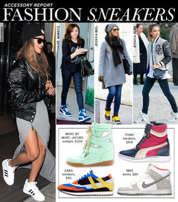 Sneakers Chic Trend