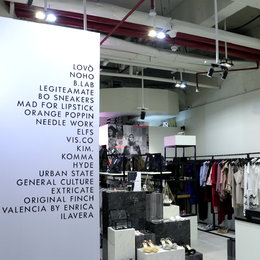 Shop With Style At Brand Outlet Pop-Up Store