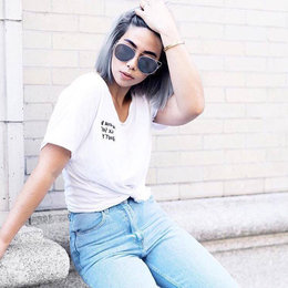 7 New Tips On Styling A White T-Shirt