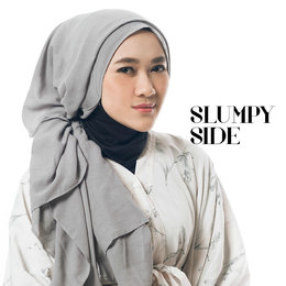 Tutorial Hijab: Slumpy Side