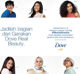 Let's Show Kind Of Beauty #AkuIndonesia With DOVE