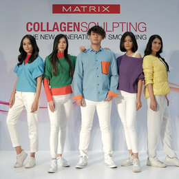 MATRIX Hadirkan Collagen Sculpting Di Salon-Salon Mitra
