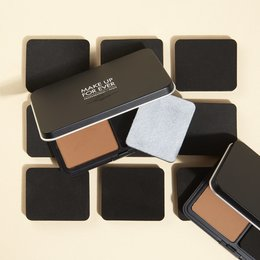 Matte Velvet Skin Powder Foundation Inovasi Terbaru Dari MAKE UP FOR EVER
