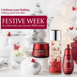 Clear Skin On SK-II Festive Week