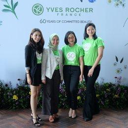 Yves Rocher, 60 Tahun Berkomitmen Untuk Menghargai Bumi