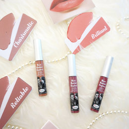 6 Warna Baru The Balm Meet Matt(e) Hughes