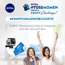 #KempitChallenge: Tantangan Seru Dari NIVEA