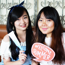 Stylish On Summer Without Acne With Mustika Puteri