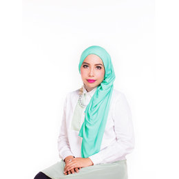 Double-Layered Wrap Hijab