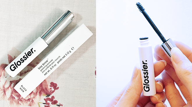 Clozette, Insider, Beauty, Glossier, Boy Brow, Eyebrow Products, Brows