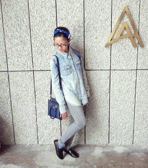 Rockiń denim over denim at recent Cleo × Levis BFF Brunch Party!  Tap for details! 💙 #cleoxlevis #my501skinny #brunchparty #150217 #lotd #ootd #wiwt #fashion #style #streetwear #denim #fashionenthusiast #fashionista #igers #blogger #fashionblogger #lifestyleblogger #malaysianblogger #influencer #starclozetter #clozette