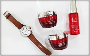 I know I won't be able to stop my aging process, but least I could do is to slow down the process. Fillers and botox are temporary solutions, what's more important is our skin's regeneration system. I have tried Olay Regenerist Miracle Duo (Micro-Sculpting Cream and Miracle Boost Youth Pre-Essence) for 4 weeks after I read that it can help to renew my skin from within with plumping surface cells for a dramatic transformation without the need for fillers. Check my blog review in after 4 weeks trial! #OlayMalaysia #MiracleDuo #BestBeautiful #Clozette
