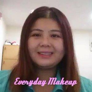 My Everyday Makeup Routine  Next time should shoot video with camera instead 😂  #clozette #bblogers #makeup #beauty #beautyvlogger #vlog #makeup #makeuptutorial
