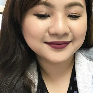 Full coverage. Glam every day cause I can! 👌🏼😊😘 💋 NYX Cosmetics Soft Matte Lip Cream in Budapest. 😍 ▫️▫️▫️▫️▫️▫️▫️▫️▫️▫️▫️ #clozette #iphoneonly #fotd #lotd #ggss #girl #me #asian #makeup #beauty #filipina #selfie #narcissist #selca #plussizebeauty #pinay #pinaybeauty #makeupaddict #makeupph #budapest #nyxcosmetics #softmatte
