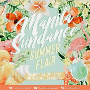 "Repost @manilasundance 😊 ""Get ready for a fun-filled, summer lovin' shopping experience with Manila Sundance Summer Flair this March 24-26 at the Megatrade Hall, SM Megamall! We're bringing you closer to summer!! Make sure to be there!! Tag your baes & besties! 👌💕👯 #MSB2017 @manilasundance""  #vscocam #vscoph #igers #igersmanila #blogger #bloggerph #mommydiaries #mommyblogger #teamshirubi #clozette 👑"