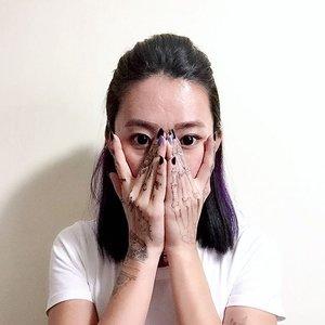 JAGUA x More of this tomorrow w bao @christyfrisbee 💕 #selfie #hairsg #sghaircolor #jagua #illustration #selca #latergram #igers #vscocamsg #igersingapore #clozette #stylexstyle #igsg #topshopsg #purplehair #katvond #ootdsg #lookbooksg #lookbooknu #notd #lotd #throwback