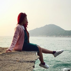 You can't tell I'm inwardly cringing due to the horrid pee smell 🙅🏽 / cr: @thefrenchbraid #huiminxoxo #travel #hongkong #ootd #fashiondiaries #fashionista #wiwt #sgfashionista #clozette