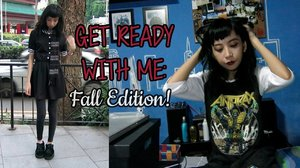GET READY WITH ME: FALL EDITION   Skinny Decxf Latte - YouTube