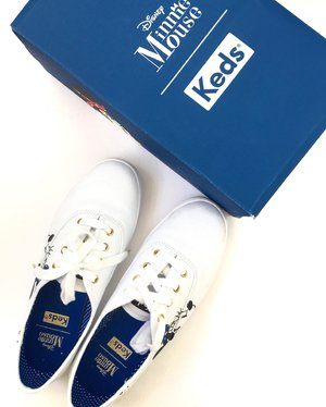 Must have white sneakers 👟#keds #white #whitesneakers #kedsph #shoes #shoe #musthave #sneakers #minniestyle #minniemouse