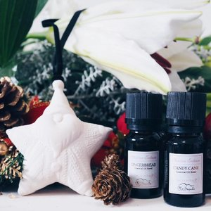 It still feels a lot like Christmas whenever I take a whiff of my Gingerbread and Candy Cane essential oils from @mtsapola! x #clozette #bbloggers #beautychat #xmas2016 #xmaswkitty #mtsapolasg
