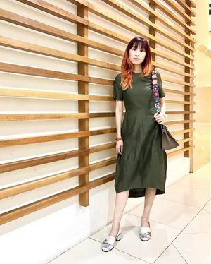 Back to warm weather dressing. . Loving this dress from @cosstores . .  http://liketk.it/2qnAo @liketoknow.it #liketkit #dress #instadaily #instafashion #olive #cosstores #cosmalaysia #gucci #ootd #outfit #clozette #fashion #fashionblogger #blogger #fashionista #fendi #hermes #jypsiere #latergram #summerweather