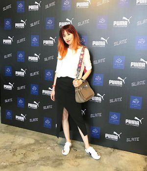 #Throwback to yesterday at the #pumamalaysia SS17 launch. •Hair by @toniandguybangsar •Photo credit to @luminnej . . http://liketk.it/2qmoO @liketoknow.it #liketkit #zara #skirt #aliceandolivia #sneakers #gucci #hermes #jypsiere #hermesjypsiere #toniandguybangsar #toniandguymalaysia #fendi #gucciacesneakers #puma #ss17 #ootd #outfit #tbt #fashionblogger #blogger #fashion #fashionista #clozette #style #streetstyle