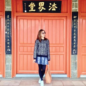 Check out our Ngong Ping 360 adventures on the blog today ❤ katrinlapena.com ❤ #clozette #ootd