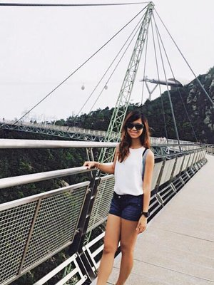 Checked in Langkawi sky bridge  #StreetLook #clozette #monochrome #ootd