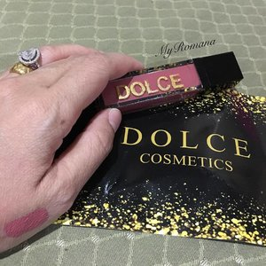 #dolcecosmetics lip lacquer in Adele. Malaysian brand. Cruelty free Paraben free 100% vegan 21 shades to choose from Transfer proof Smudge proof No scent at all Will report back how I feel about the formula ok? Very sleek packaging but looks so similar to another local brand I know. RM35 each  I have a few shades already on my wish list: Bella, Chloe and Elle . . .  Thank you so much @ruzaujahahmad for this lovely gift. The shade is so beautiful. I love it! . . .  #dolcecosmetics #makeup #beauty #MyRomana #clozette #liplacquer #liquidlipstick #lipstick