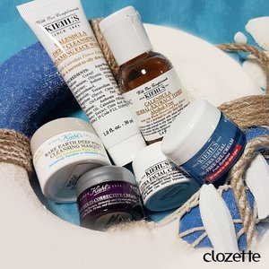 Are you a fan of these five #KiehlsSG bestsellers? Spot the Ultra Facial Oil Free Gel Cream, Ultra Facial Cream, Calendula Deep Cleansing Foaming Face Wash, Calendula Herbal Extract Toner, Clearly Corrective Dark Spot Serum, and Eye Brightening Concentrate! What are your go-to Kiehl's products? #Clozette #ClozetteSHOTS #KiehlsDay