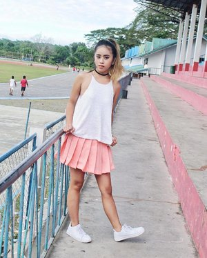 This is how I styled my tennis skirt from @legendaireph!🏓 Of course, girly as always 💕 - - @pilipinasootd #Pilipinasootd #Clozette #OOTD #ThisGirlDoesItAll