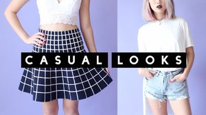 4 Casual Everyday Outfits - YouTube