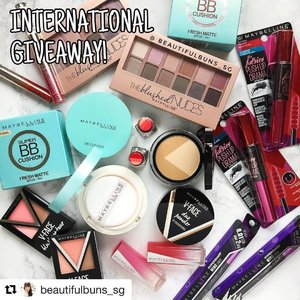 I'm on natural shade!! #BeautifulbunsxMaybelline @beautifulbuns_sg  Repost @beautifulbuns_sg with @repostapp ・・・ INT'L GIVEAWAY: Yoohoo~! I'll be giving away 2 full-face hampers with products from @maybelline 🤗  Each hamper is valued at more than SGD$150, and consists their newest Super BB Cushion Fresh Matte BB, The Blushed Nudes 12-colour Eyeshadow palette, Hypersharp Wing Liner, The Falsies Push Up Drama Mascara, V-Face Blush Contour, V-Face Duo Powder, and a lip tint/lipstick (tbc). Essentially, it's everything you'll need for a full face of makeup~  To win, all you have to do is:  1. Follow me on Instagram (@beautifulbuns_sg) 2. Like this photo  3. Repost this photo on your account, use the hashtag #BeautifulbunsxMaybelline, and also caption it with your preferred shade (Light or Natural). And that's it! 🤗  This giveaway is open to all my followers worldwide, and will close on 11 January 2017, Wednesday 2300 hours (GMT +08:00). Not applicable to Instagram accounts used solely for giveaway/contests.  #giveaway #maybelline #maybellinesg  #beauty #beautyblog #beautyblogger #clozette  #beautyaddict #bblogger #instabeauty  #makeup #makeupjunkie #makeupaddict #makeupstash  #beautyjunkie  #makeuphoarder #igbeauty #bbcushion #메이블린 #eyeshadow #highlightandcontour