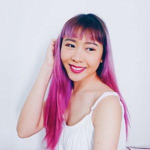 Cause I don't wanna miss out 😜  #pinkhair #purplehair #hair #fliphair #clozette #butterflymsia