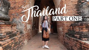 Thailand Pt 1: Exploring ruins in Ayutthaya || SEE - YouTube