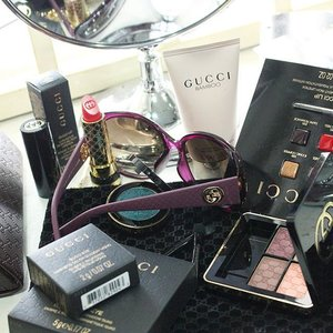 #YeenBeaute #Instagram #GucciBeauty #Clozette Added a couple of new makeup brands into my personal stash... Gucci Beauty is always so classy. Will be back to HK in mid-June, so buzz me up if you need Shopping service.  #MakeUp #Beauty #Blogger #Fun #Love #Gucci #PreOrder #Shopping