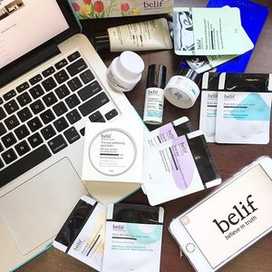 #YeenBeaute  New products to try. Thanks @belifmalaysia for sending the goodies to Penang! xoxo!  #Clozette #BelifMalaysia #Blogger #Fun #Instagram #Product #Review #Blog #Skincare