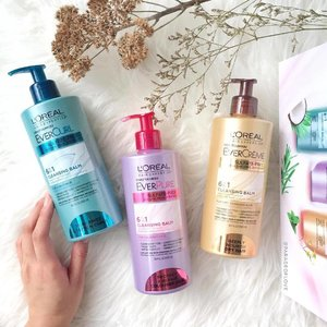 A new way to cleanse your hair without lather! 💁🏽 The @lorealhair Ever Cleansing Balms are 100% Sulfate-Free, Paraben-Free and Silicone-Free, formulated to give you a more gentle wash than regular shampoos by reducing the friction between the lengths of your hair cuticles, which makes your hair less drying and tangle-free. Available at SGD25.90. #clozette #beauty #lorealparissg