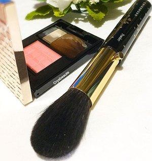 🎀💕🖌powder brush #chikuhodo; #maquillage #shiseido blusher