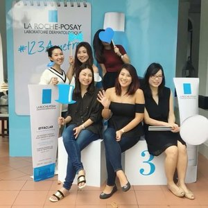 Had a really informative session at the @lrpsg #123acnefree Bootcamp today! It's always nice to learn from the professionals and to spend the afternoon with friends. Thanks #larocheposay for having us! 😘 - #clozette #larocheposaysg #lrpsg #acnefree #acneskincare #skincare
