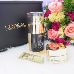 <Beauty News> Inspired by the precious French White Truffles, L'Oréal Paris Skin Expert developed its luxury anti-aging skincare, Age Perfect for unparalleled skin nourishment and restoration by stimulating cell regeneration and repairing multiple signs of aging. ⭐️Star product: Age Perfect Dual Elixir, combines regenerating Truffle Complex with nourishing Royal Jelly. 📢Zoe Tay fans will be happy to know she's the brand ambassador of this line! #zoetay10 - Available in Singapore in March '17.  #clozette #lorealparissg