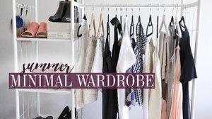 Summer 2017 Minimal Style Wardrobe Lookbook | Mademoiselle - YouTube