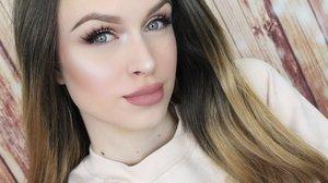 SOFT GLOWY BLUSH TONED LOOK ❤  Makeup tutorial - YouTube