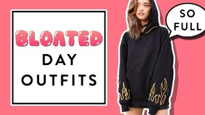 Bloated Day Outfits - YouTube