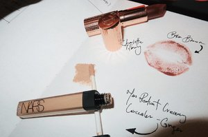 Friday night essentials - @narsissist radiant creamy concealer in ginger & @ctilburymakeup lipstick in #birkinbrown 💄. . . . . #nars #narsissist #charlottetilbury #bossofbeauty #makeupmafia #makeupoftheday #vegas_nay #brian_champagne #anastasiabeverlyhills #hudabeauty #wakeupandmakeup #dressyourface #lookamillion #nikkietutorials #mannymua #ilovemakeup #ghalichiglam #makeupsg #beautysg #muasg #clozette #browgame #sephorasg #sephora