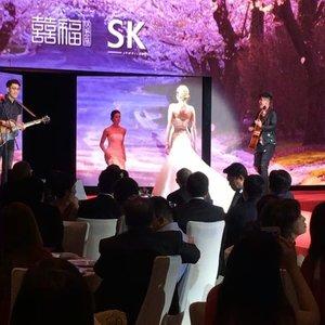 #nathanhartono performing live at #skjewellery launch event last night 😍 #liveperformance #clozette