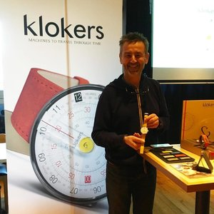 Preview of #klokers latest offerings: learnt from the founder, Mr. Nicolas Boutherin, that the geometrical slide was the inspiration behind his new watch design ⏱ #watches #watch #Clozette