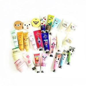 Changed my username to @yourgirlbossbeautyblog for now! @jeankuah will now be used for my personal acc. My handcream collections/stash #guilty 😂I managed to giveaway and resell some! Realized I bought way TOO MANY. The amount of hand creams can last me 5 years 😣What's your favorite hand cream?#clozette