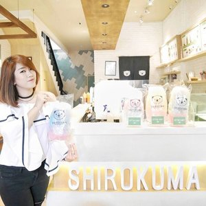 "Hi all food lovers! Wanna see the cutest dessert at Jakarta? You must come to @cafe_shirokuma and try sweet and yummy dessert of my favorite soft ice cream on every dessert menu! Ahaa.. Get your special Easter edition if you come for this months.  Other than that, of course you can try their main course too and I challenge all of you who love spicy food to eat ""Momo Noodle"" by yourself! Get FREE icecream If you can finish one plate by yourself.  I really love to come at Shirokuma and all the spot in this place always great to me! Never feel enough to eat their cotton candy! #ClozetteID #Shirokuma #ShirokumaPIK"